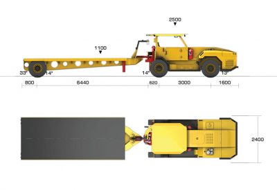 10T Tractor Trailer_Dims