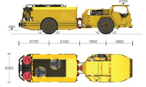 LIB Lube Truck_Dims