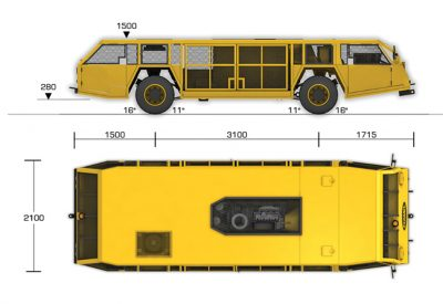 Shuttle 18 Man LP_Dims